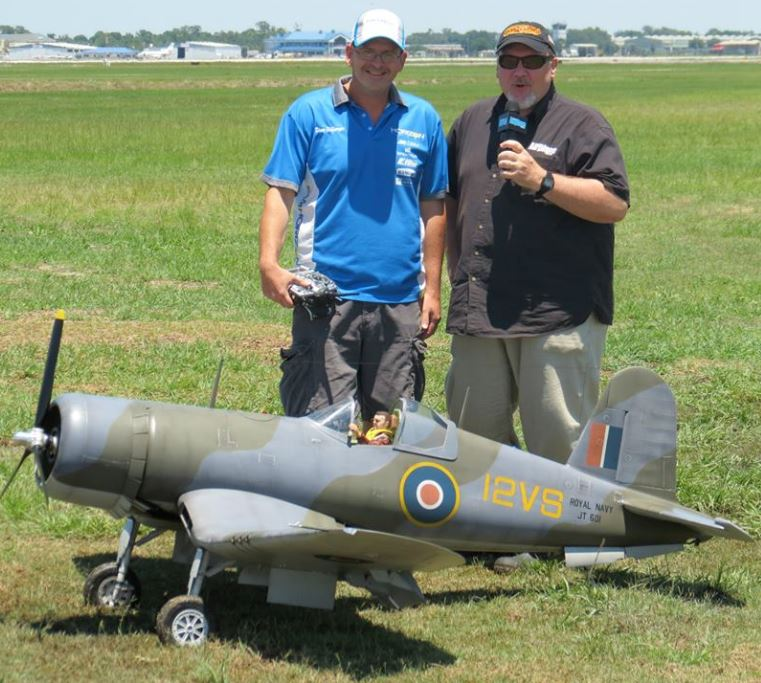 Top Gun Video Interview — Dino DiGiorgio — F4U Corsair