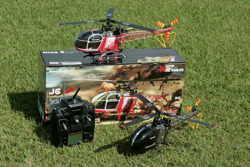 The Nine Eagles Solo Pro 290 Lama Helicopter