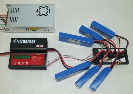 Charging Multiple Packs