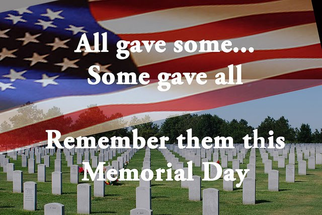 Our thanks to all who have served!