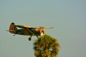 Roger Niolets Stinson flying