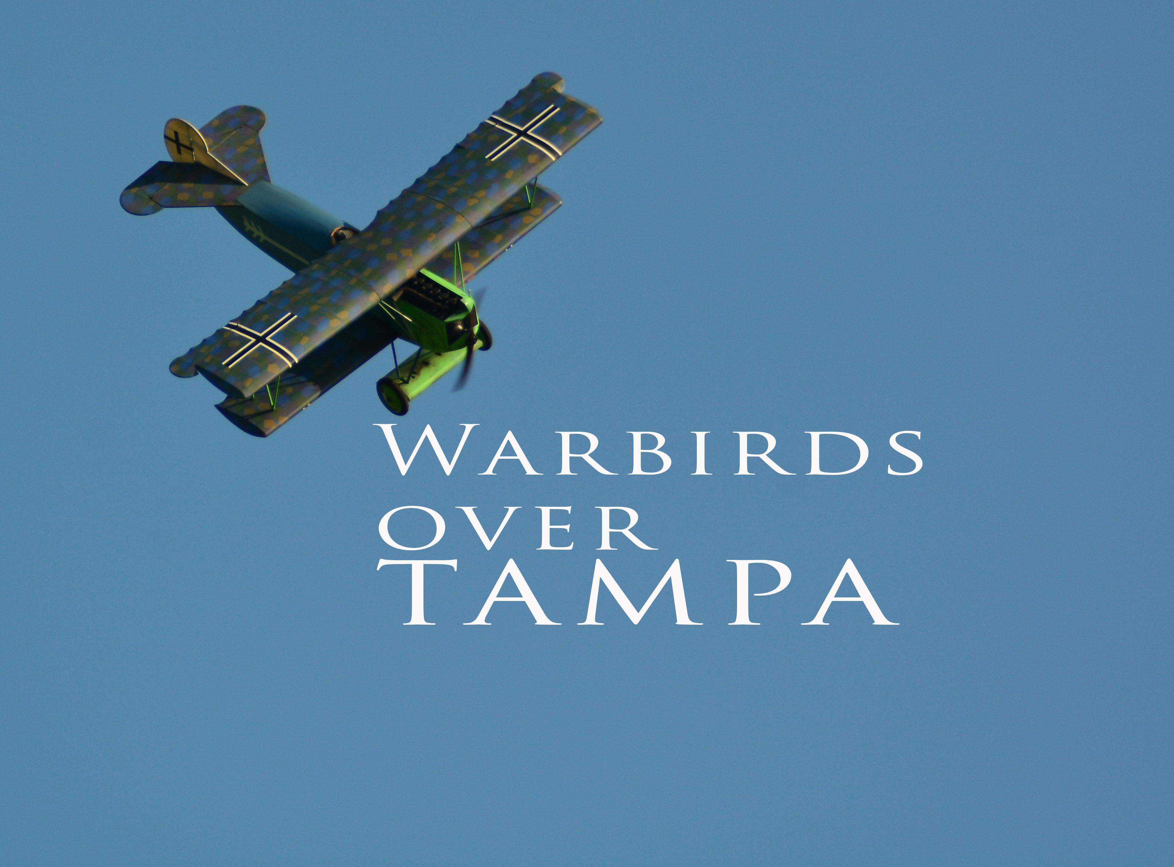 Tampa's Triple Creek RC Club  WARBIRDS!