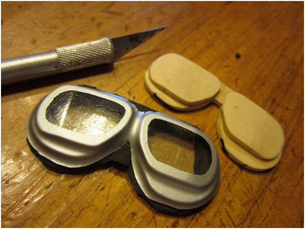 Home-made Goggles — Vacuum-forming Made Easy.