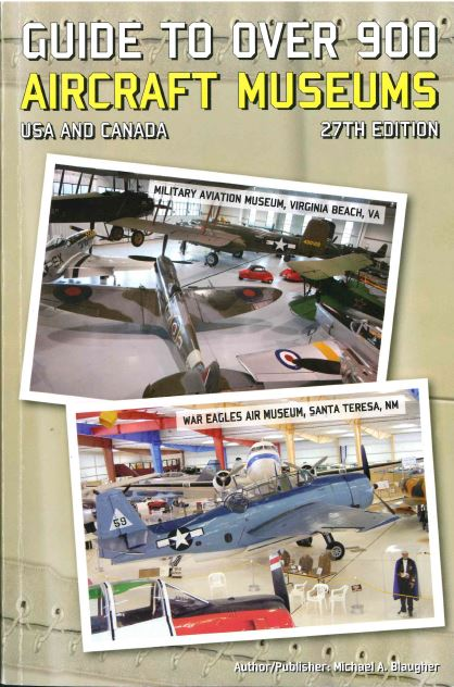 Great Find! Guide Book to over 900 Aircraft Museums!