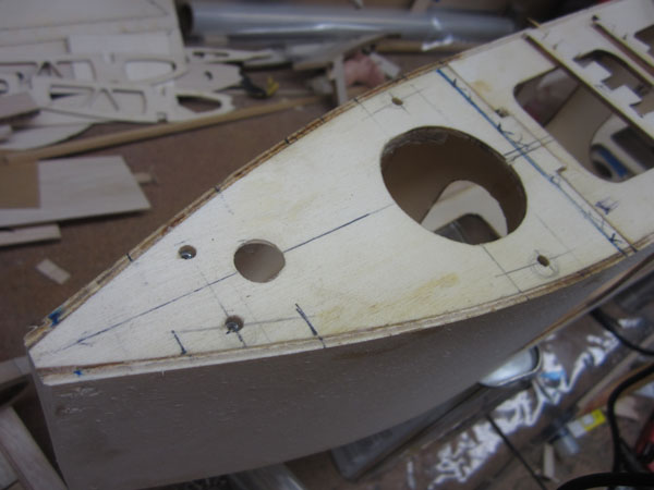 Workshop build along sopwith camel part 8 tail surface for Best builders workshop deck