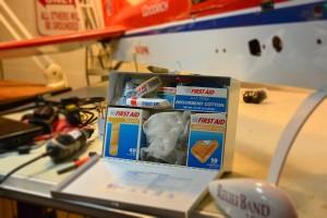 Open aid kit