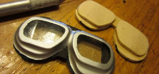Home-made Scale Goggles — Vacuum-forming Made Easy.