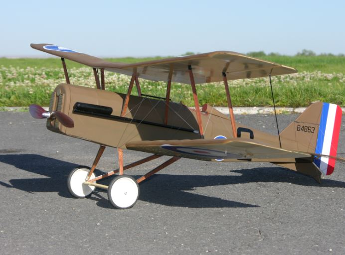 EZ Build WW1 SE5a Scout - Model Airplane News
