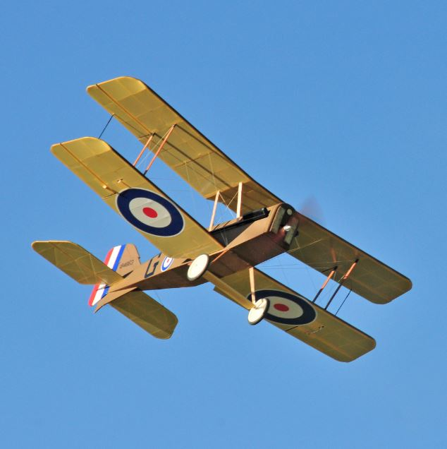 WW1 Scout you can Build–RAF SE5a Updated!