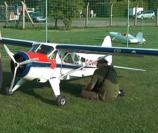 Monster 40% RC scale DHC-2 Beaver