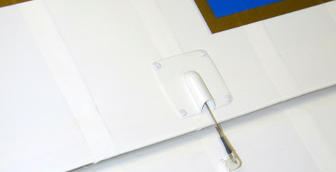 Exterior Details: Dummy Control Linkages