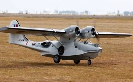 World's Largest RC PBY Catalina