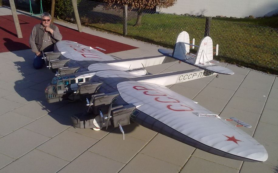 7-Engine Russian Bomber