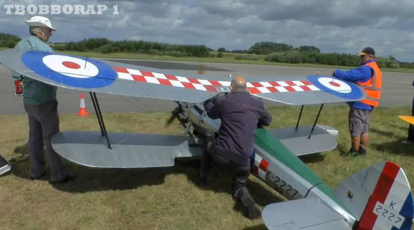 Half-Scale Bristol Bulldog Takes Flight