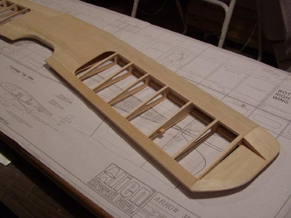 Workshop Build-Along — Alien Aircraft ArrowMaster 4 — Top Wing