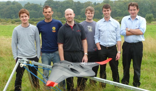 3D printed UAV with integrated motors!