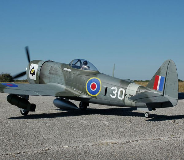 P-47 Thunderbolt Makeover—Republic's Street Fighter in British War Paint