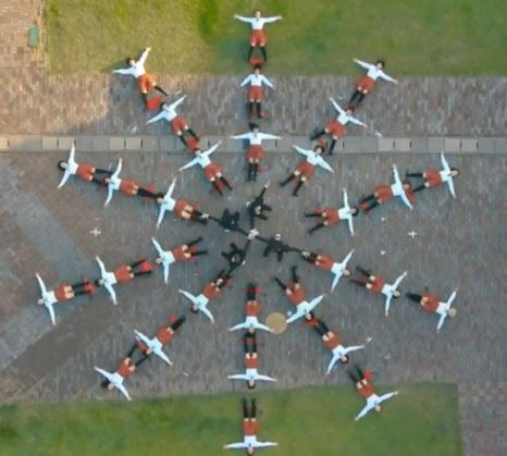 OK Go's new video — a one-take multirotor shot!