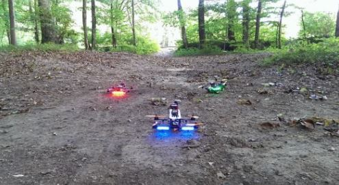 Video: Drone Racing, Star Wars Style!
