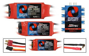 Hitec Energy Sport Speed Controls