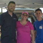 Hobbytown USA Brandon Team Tom, Allison and Wesley, were there and brought a Real Flight Simulator!