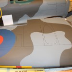 Hangar 9 Spitfire wing details