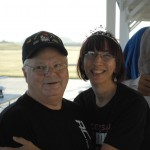 Bill and Kay Adkins A.K.A. The Queen and the Marine.