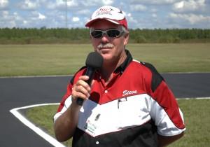 Steve Sciuga announcer extraordinaire!