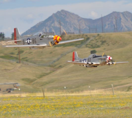 RC Warbird Formation Flying
