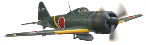 Flyzone Japanese Zero Tx-R Prime And RTF