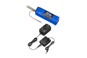 JR Americas 3F2100 LiFe Transmitter Pack And NEC-J17 LiFe Charger