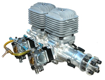 DLA 64cc-I2 In-Line Twin Engine