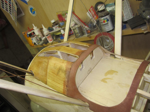 Sopwith Camel Build-Along Part 15 — Fairing the Cabane Struts