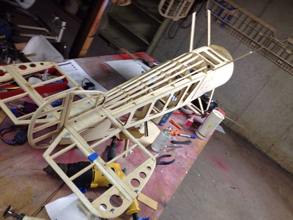 RC Sopwith Camel Workshop Build-along -- RC Airplane Covering Tips