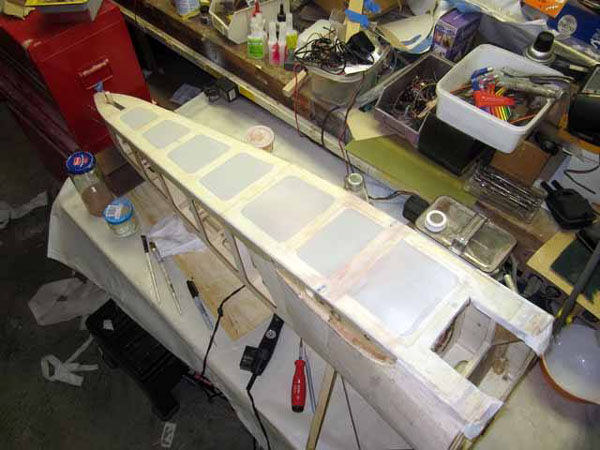 RC Sopwith Camel Workshop Build-alone --  RC Airplane Covering Tips