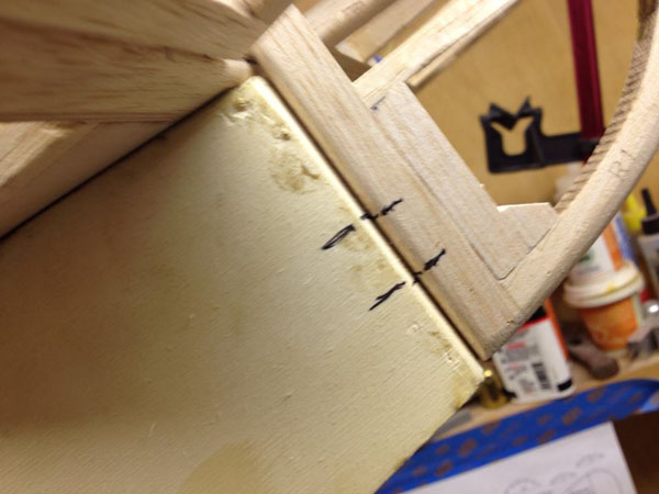 scratch building hinges radio control scale rudder