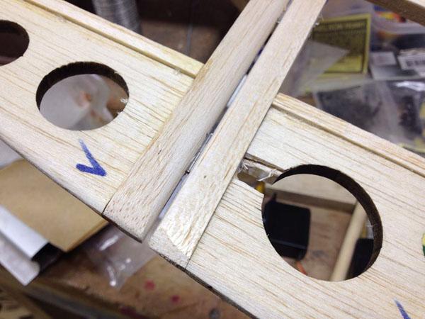 scratch building hinging technique tips radio control