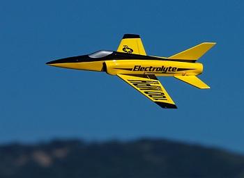 Hobbyking Electrolyte 40mm EDF Micro Jet Composite 508mm (ARF)