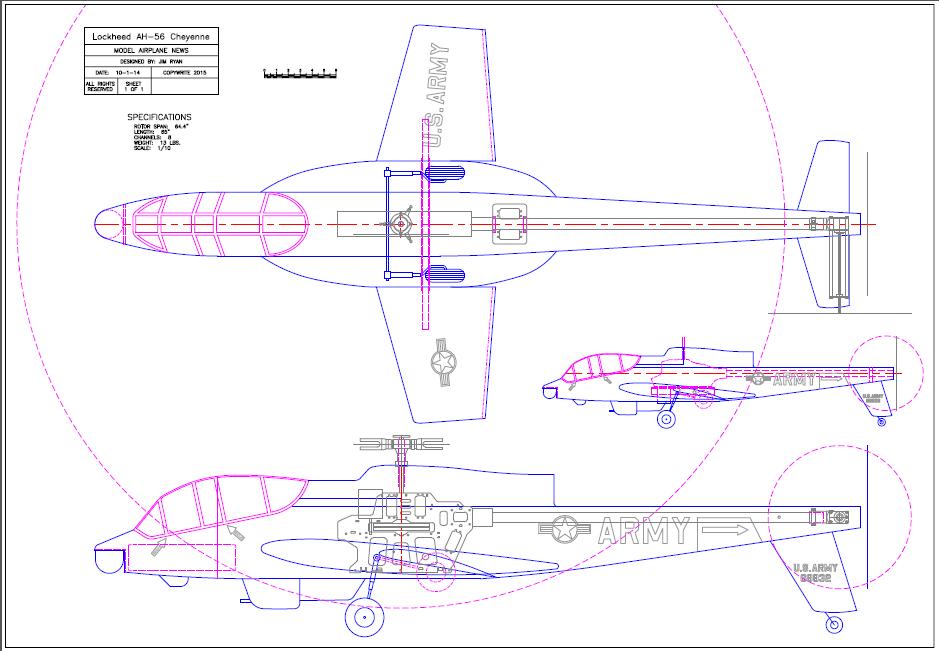 Lockheed AH-56 Cheyenne Project - Model Airplane News