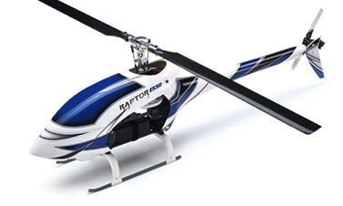 Thunder Tiger Raptor E550 Kit With New Fuselage