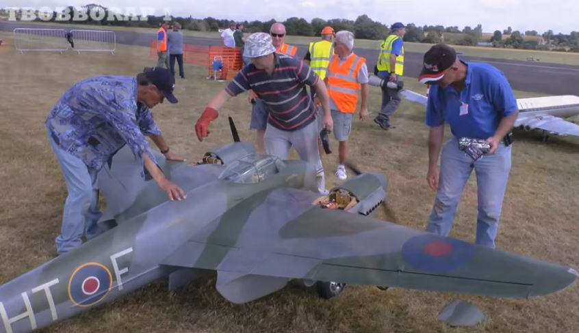 RC Giant Scale: Big — REALLY BIG! — British Planes