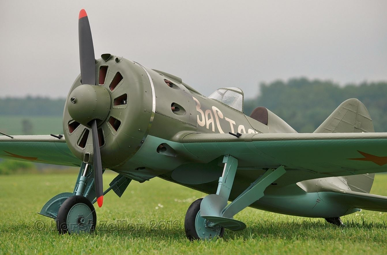 "Joachim ""Jo"" Nüsseler's Polikarpov I-16 model is a beauty!"