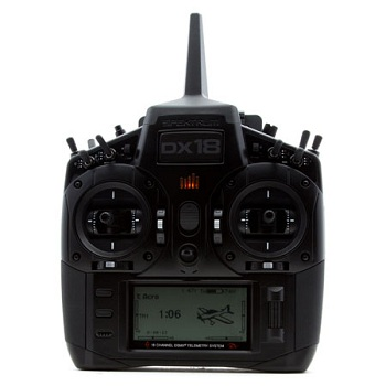 Spektrum DX18 Stealth Edition 18-Channel Transmitter With AR9020