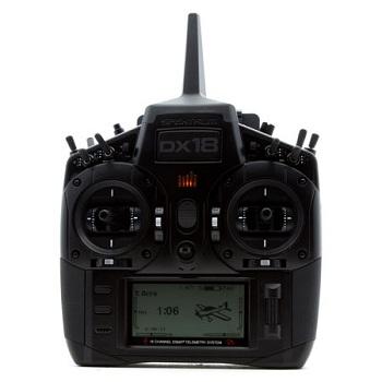 Spektrum DX18 Stealth Edition 18-Channel Transmitter With AR9020