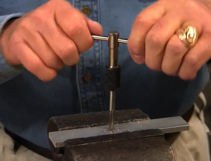 Drilling and Tapping -- Workshop tips for the RC Modeler