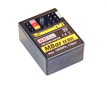 Jeti Telemetry Sensor Air Pressure MBar EX And Expander