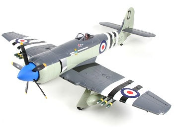 HobbyKing Avios Hawker Sea Fury Warbird EPO 1200mm (PNF)