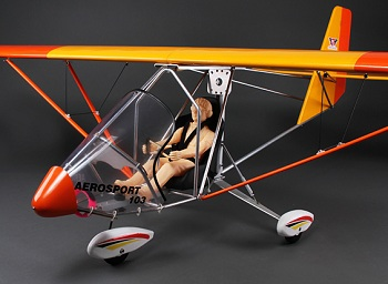 HobbyKing Aerosport 103 GP/EP Scale Ultralight Balsa 2390mm (ARF)