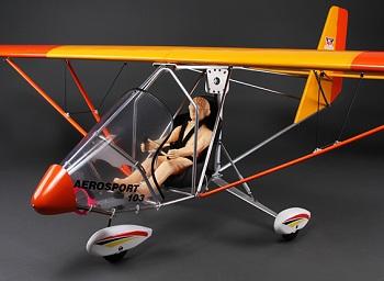 HobbyKing Aerosport 103 GP/EP Scale Ultralight Balsa 2390mm (ARF)