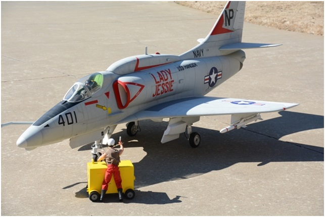 Road to Top Gun – Tommy Yates - A-4 Skyhawk - RC Scale Airplane Competition